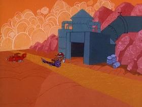 Screenshots from the 1968 Hanna-Barbera cartoon Oils Well That Ends Well