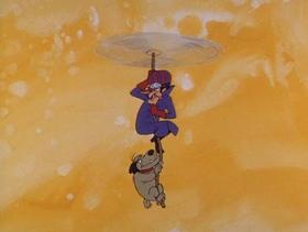 Screenshots from the 1968 Hanna-Barbera cartoon Eeny, Miny Missouri Go!