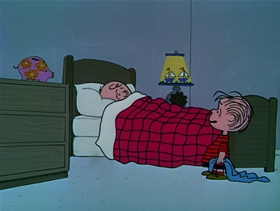 Screenshots from the 1969 Bill Melendez Productions cartoon A Boy Named Charlie Brown