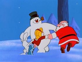 Screenshots from the 1969 Rankin/Bass cartoon Frosty the Snowman