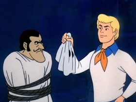 Screenshots from the 1969 Hanna-Barbera cartoon Hassle in the Castle