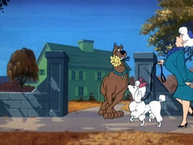 Screenshots from the 1969 Hanna-Barbera cartoon Decoy for a Dognapper