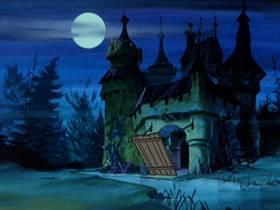 Screenshots from the 1969 Hanna-Barbera cartoon A Gaggle of Galloping Ghosts