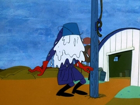 Screenshots from the 1969 Hanna-Barbera cartoon The Big Topper
