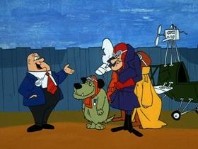 Screenshots from the 1969 Hanna-Barbera cartoon A Plain Shortage Of Planes
