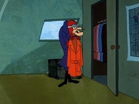 Screenshots from the 1969 Hanna-Barbera cartoon Empty Hanger