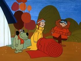 Screenshots from the 1969 Hanna-Barbera cartoon Carpet