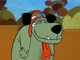 Screenshots from the 1969 Hanna-Barbera cartoon Automatic Door