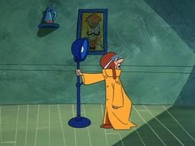 Screenshots from the 1969 Hanna-Barbera cartoon Deep Reading