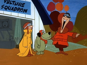 Screenshots from the 1969 Hanna-Barbera cartoon Mop Up