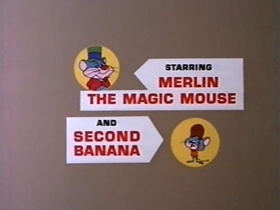Screenshots from the 1969 Warner Brothers cartoon Fistic Mystic
