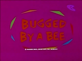 Screenshots from the 1969 Warner Brothers cartoon Bugged By a Bee