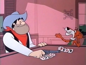 Screenshots from the 1969 Warner Bros. cartoon Injun Trouble