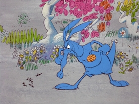 Screenshots from the 1969 DePatie Freleng cartoon The Ant and the Aardvark
