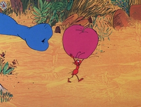 Screenshots from the 1969 DePatie Freleng cartoon The Ant from Uncle