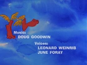 Screenshots from the 1969 DePatie Freleng cartoon Flying Feet