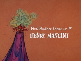 Screenshots from the 1969 DePatie Freleng cartoon Extinct Pink