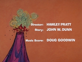Screenshots from the 1969 DePatie Freleng cartoon Extinct Pink