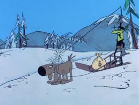 Screenshots from the 1969 DePatie Freleng cartoon Sweet and Sourdough