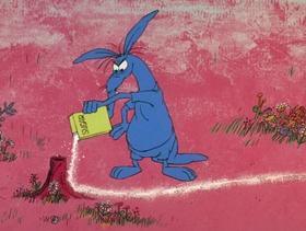 Screenshots from the 1969 DePatie Freleng cartoon Never Bug an Ant