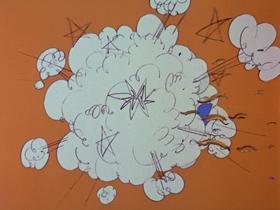 Screenshots from the 1969 DePatie Freleng cartoon A Pair of Sneakers
