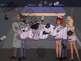 Screenshots from the 1970 Hanna-Barbera cartoon The Nemo