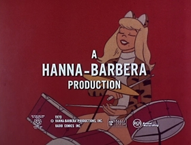 Screenshots from the 1970 Hanna-Barbera cartoon A Greenthumb Is Not a Goldfinger