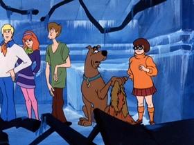 Screenshots from the 1970 Hanna-Barbera cartoon Scooby