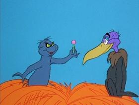Screenshots from the 1970 MGM cartoon Horton Hears a Who!