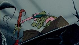 Screenshots from the 1970 MGM cartoon The Phantom Tollbooth