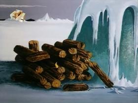 Screenshots from the 1970 Walter Lantz cartoon Chilly