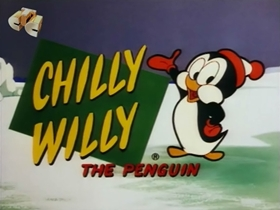 Screenshots from the 1970 Walter Lantz cartoon Chilly