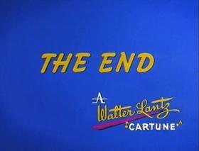Screenshots from the 1970 Walter Lantz cartoon Buster