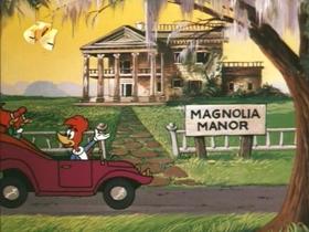 Screenshots from the 1970 Walter Lantz cartoon Flim Flam Fountain
