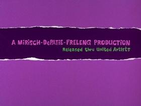 Screenshots from the 1970 DePatie Freleng cartoon Scratch A Tiger