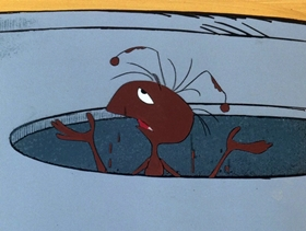 Screenshots from the 1970 DePatie Freleng cartoon Odd Ant Out