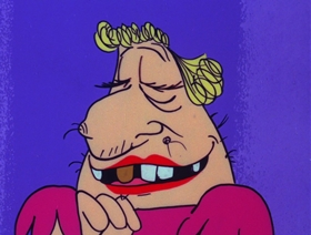 Screenshots from the 1970 DePatie Freleng cartoon A Taste of Money