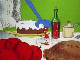 Screenshots from the 1970 DePatie Freleng cartoon Mumbo Jumbo