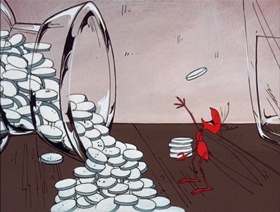 Screenshots from the 1970 DePatie Freleng cartoon Don