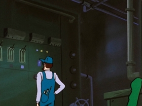 Screenshots from the 1971 TMS Entertainment cartoon Is Lupin Burning...?!