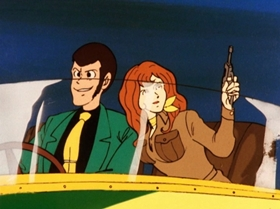 Screenshots from the 1971 TMS Entertainment cartoon Farewell My Beloved Witch