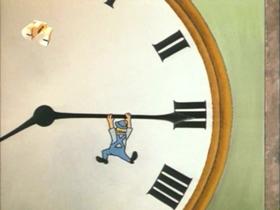 Screenshots from the 1971 Walter Lantz cartoon Sleepy Time Chimes