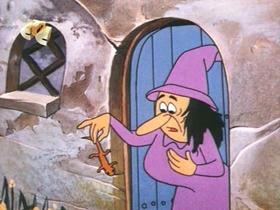 Screenshots from the 1971 Walter Lantz cartoon Woody