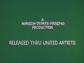 Screenshots from the 1971 DePatie Freleng cartoon Snake in the Gracias
