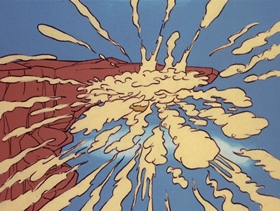 Screenshots from the 1971 DePatie Freleng cartoon Pink Tuba-Dore