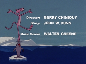 Screenshots from the 1971 DePatie Freleng cartoon Pink Pranks