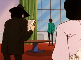 Screenshots from the 1972 TMS Entertainment cartoon Beware the Time Machine!