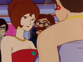 Screenshots from the 1972 TMS Entertainment cartoon The Emerald