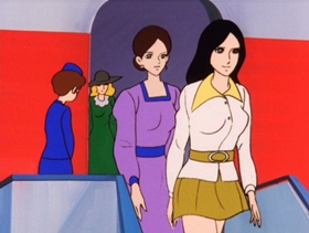 Screenshots from the 1972 TMS Entertainment cartoon Keep an Eye on the Beauty Contest