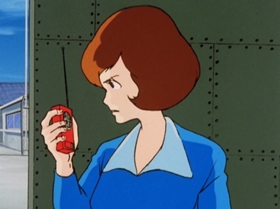Screenshots from the 1972 TMS Entertainment cartoon Which of the Third Generation Will Win!